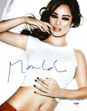 Berenice Marlohe Sexy Signed 11X14 Photo Autographed PSA/DNA #T13944