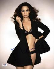 Berenice Marlohe Sexy Signed 11X14 Photo Autographed PSA/DNA #U23652