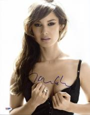Berenice Marlohe Sexy Signed 11X14 Photo Autographed PSA/DNA #X31068