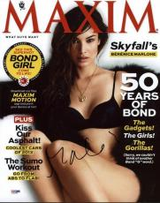 Berenice Marlohe Sexy Signed 11X14 Photo Autographed PSA/DNA #X31069
