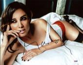 Berenice Marlohe Sexy Signed 11X14 Photo Autographed PSA/DNA #X31089