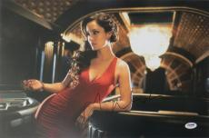 Berenice Marlohe Signed 007 Skyfall Autographed 12x18 Photo PSA/DNA #T31847