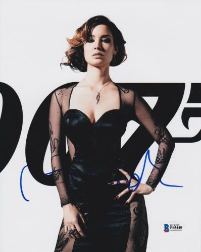 Berenice Marlohe Signed 8x10 Photo Skyfall Bond Beckett Bas Autograph Auto Coa E