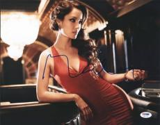 Berenice Marlohe Skyfall Sexy Signed 11X14 Photo PSA/DNA #U52718