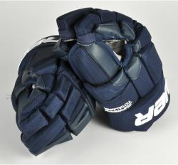 Sean Bergenheim Florida Panthers Game-Used Bauer Total One Hockey Gloves - Mounted Memories
