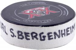 Sean Bergenheim Florida Panthers 12/28/13 Game-Used Goal Puck #1 vs. Detroit Red Wings