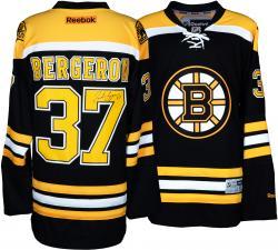 Patrice Bergeron Boston Bruins Autographed Reebok Premier Jersey