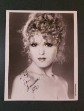 Bernadette Peters-signed photo-Certified