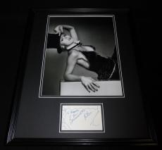 Bernadette Peters Signed Framed 16x20 Poster Photo Display