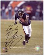"Chicago Bears Bernard Berrian Autographed 8"" x 10"" Photograph"