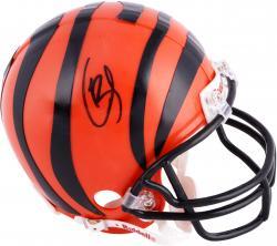 Giovani Bernard Cincinnati Bengals Autographed Riddell Mini Helmet