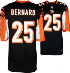 Giovani Bernard Cincinnati Bengals Autographed Nike Replica Black Jersey