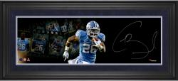 Giovani Bernard North Carolina Tar Heels Framed Autographed 10'' x 30'' Filmstrip Photograph - Mounted Memories