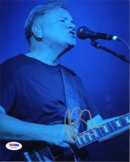 Bernard Sumner New Order Autographed Signed 8x10 Photo Certified PSA/DNA