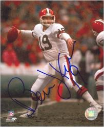 Cleveland Browns Bernie Kosar Autographed Photo - Mounted Memories