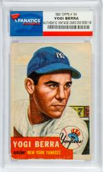 Yogi Berra New York Yankees 1953 Topps #104 Card - Mounted Memories