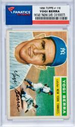 Yogi Berra 1956 TOPPS # 110 Vintage Baseball Card