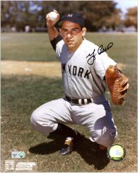 Yogi Berra Autographed 8x10 Photo - New York Yankees