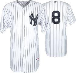 Yogi Berra New York Yankees Autographed Authentic Jersey - Mounted Memories