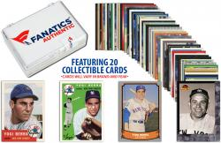 Yogi Berra New York YankeesCollectible Lot of 20 MLB Trading Cards - Mounted Memories