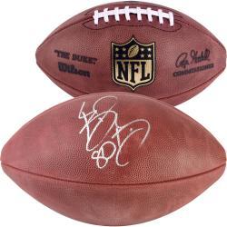 Bernard Berrian Chicago Bears Autographed Duke Football