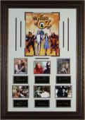 Bert Lahr unsigned The Wizard of Oz 27x39 Engraved Signature Series Leather Framed 7 Photos w/Cast (Lion) (entertainment)
