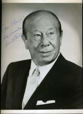 Bert Lahr Wizard Oz Jsa Coa Signed 8x10 Photo Authenticated Autograph
