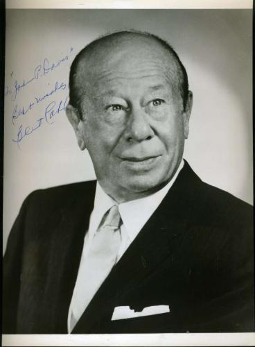 Bert Lahr Wizard Oz Jsa Coa Signed 8x10 Photo Authenticated Autograph