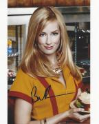 """BETH BEHRS as CAROLINE CHANNING on TV Series """"2 BROKE GIRLS"""" Signed 8x10 Color Photo"""