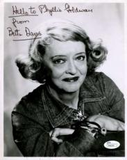 Bette Davis Jsa Certified Coa Hand Signed 8x10 Photo Authenticated Autograph