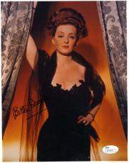 Bette Davis Jsa Coa Hand Signed 8x10 Photo Authenticated Autograph
