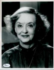 Bette Davis Jsa Signed 8x10 Photo Certified Autograph