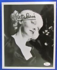 Bette Davis Signed Auto Autograph 8x10 Photo - JSA R21560 - Oscar Winner