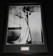 Bette Davis Signed Framed 18x24 Photo Poster Display