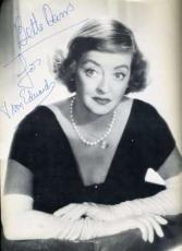 Bette Davis Signed Jsa Certed Theatre Program Authentic Autograph