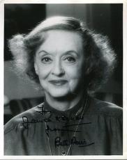 Bette Davis Signed Jsa Certified 8x10 Photo Authentic Autograph