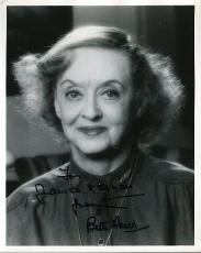 Bette Davis Signed Jsa Certified 8x10 Photo Authentic Autograph