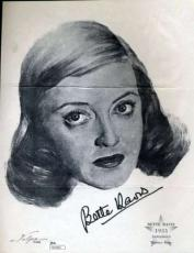 Bette Davis Signed Jsa Certified 8x10 Photo Authenticated Autograph
