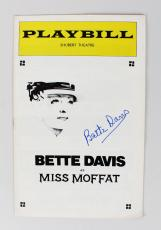 Bette Davis Signed Miss Moffat Play Billy (JSA)