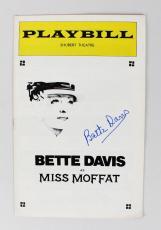 Bette Davis Signed Miss Moffat Play Billy – JSA