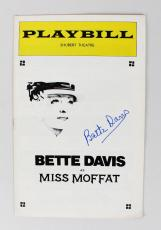 Bette Davis Signed Miss Moffat Play Billy – JSA