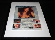 Bette Midler Mondo Beyondo Framed 11x14 ORIGINAL Vintage Advertisement