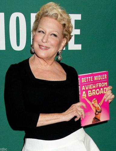 "Bette Midler Signed Autographed Book ""a View From A Broad"" With 10 Real Photos"