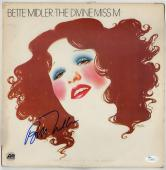 Bette Midler signed autographed record album! RARE! JSA Authenticated!