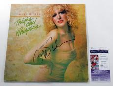 Bette Midler Signed Record Album Thighs and Whispers w/ JSA AUTO