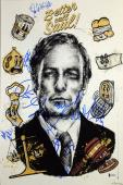 Better Call Saul (9) Bob Odenkirk, +8 Signed 12x18 Mini Movie Poster BAS #A85190