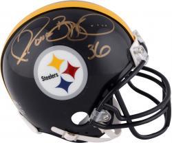 Jerome Bettis Pittsburgh Steelers Autographed Riddell Mini Helmet