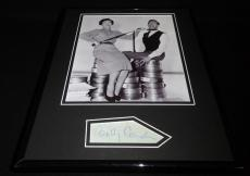 Betty Comden Signed Framed 11x14 Photo Display Singin in the Rain B