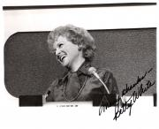 "BETTY WHITE (ACTRESS/SINGER/AUTHOR) Best Known as ROSE NYLUND on the ""GOLDEN GIRLS"" Signed 10x8 B/W Photo"