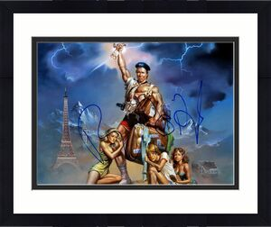 Beverly Dangelo Autographed 11x14 Vacation Poster Photo RACC TS AFTAL UACC